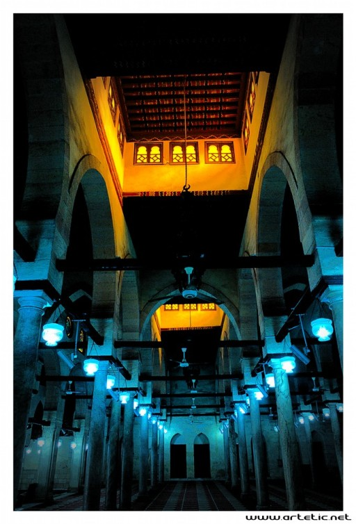 Mosque in the old city of Cairo
