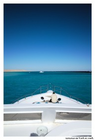 En route to Mahmya island