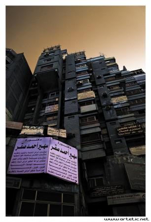 Billboard war in Cairo streets
