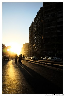 Sunset streets guilhem ribart artetic