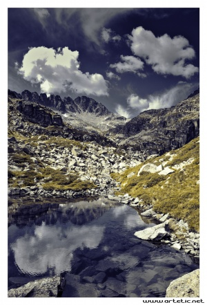 Hiking in Ariege, french pyrenees mountains