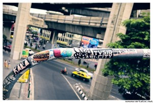 Street art in Bangkok
