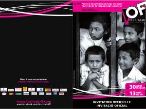 Invitation VISA Off perpignan 2014