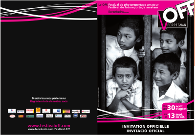 Invitation VISA Off perpignan 2014 guilhem ribart artetic
