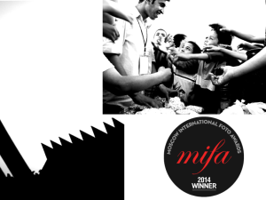 My winning photographs artworks at MIFA 2014, Moscow Interntational Foto Awards