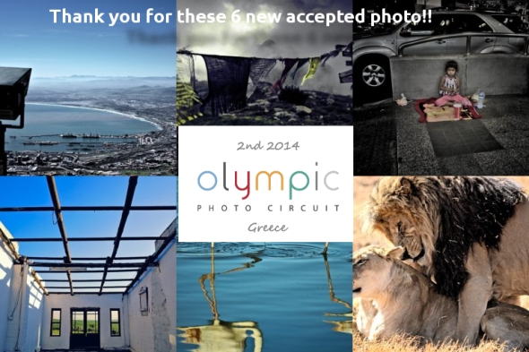 6 new photo accepted at an international photography competition