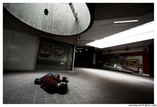Photography trip in la Defense, the business district of Paris