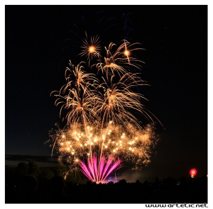 The most beautiful fireworks for Bastille day in Paris