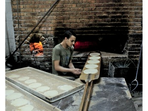 Bakery in the centre of Cairo, on Egypt