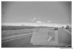 The beautiful landscapes of South Africa along the road to Durban