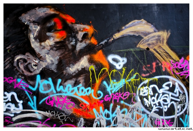 Photographic trip in Paris to photograph street art on the walls
