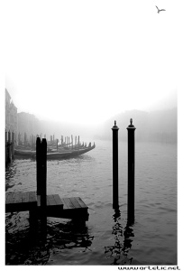 The famous fog of venice! Perfect weather to photograph venice