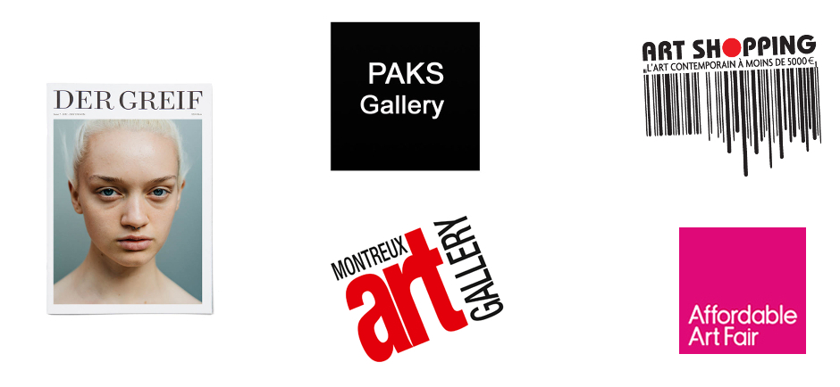 Artetic art fairs 2015 with Paks Gallery and Der Greif magazine