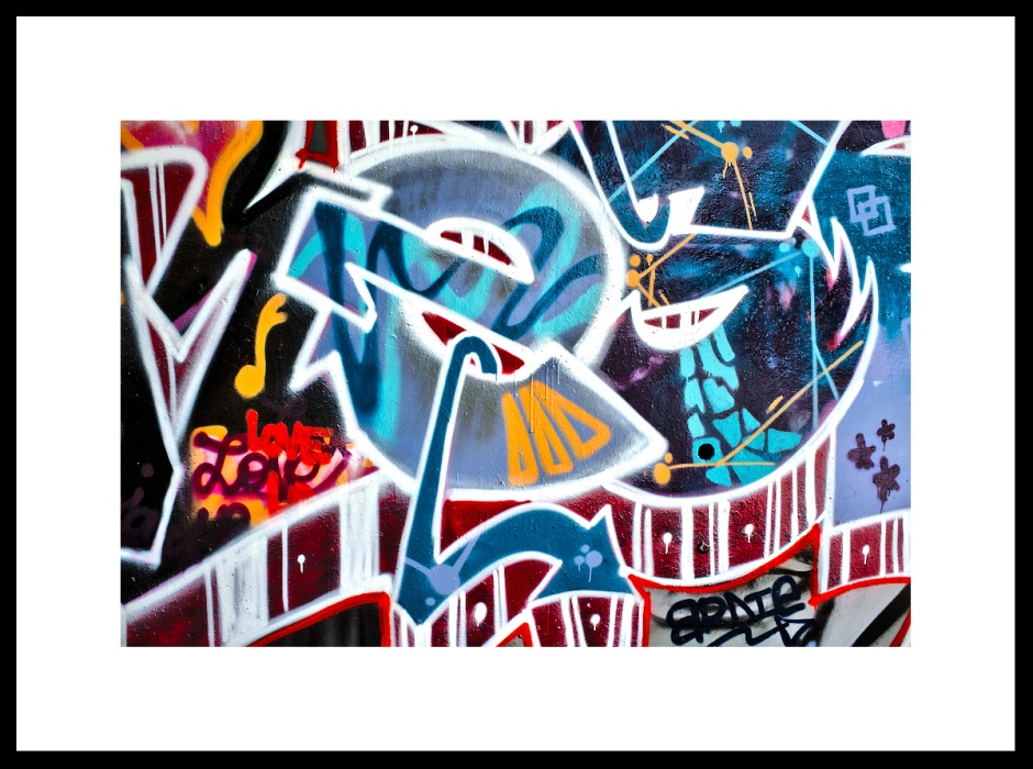 Art of Street Art around Paris
