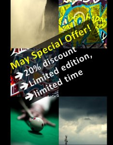 Only one month to buy 5 artworks at discount price!