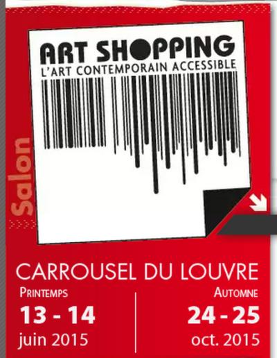 Paris Salon art shopping 2015 at Carrousel du Louvre
