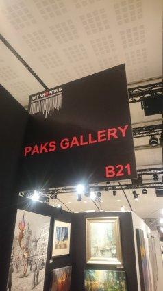 Photos from the Paris Salon Art Shopping, June 2015