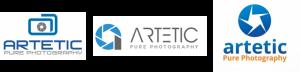 Artetic now logo design
