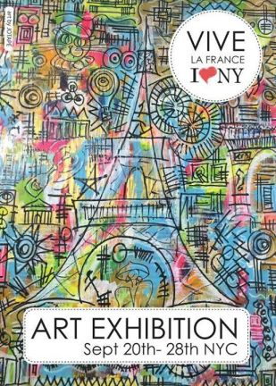 Exhibition cover of pure photography in New York