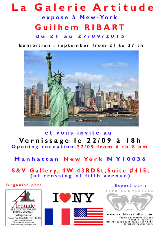 My artworks soon in New York
