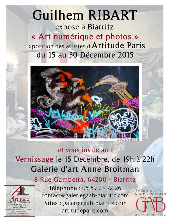 My artworks soon in Biarritz