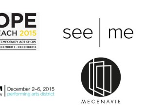 Come to my next art fairs this december in Miami during Art Basel event