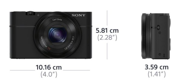The best compact camera Sony RX100