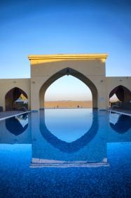 The luxurious tilal Liwa hotel